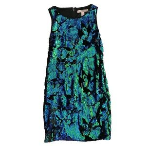 Forever 21 Mermaid Sequin Party Dress
